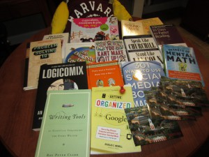 Purchases from MIT and Harvard Book stores and coops