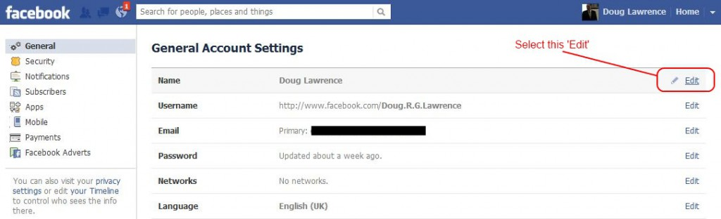 How to add multilingual names in Facebook (or how to be