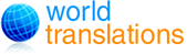 World Translations logo