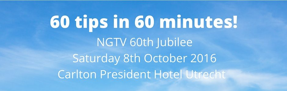 NGTV 60 years: 60 tips in 60 minutes